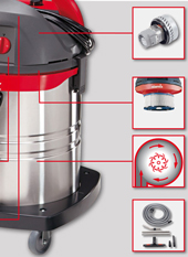 профессиональные пылесосы starmix строительные пылесосы стармикс подключение электроинструмента шлифовальных машин установок алмазного сверления алмазных пил